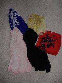 40's- 50's beaded sweaters