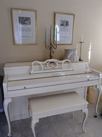 Jenkins French Provincial piano