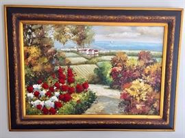 Original oil painting, signed