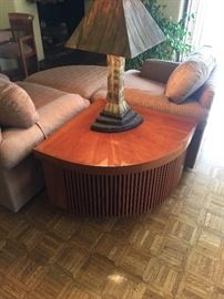 table designed by FLW Lamp as well