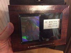 Joe Montana hologram