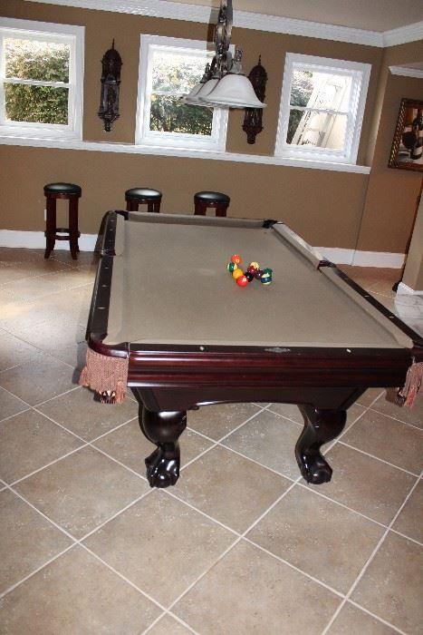 ... Pool Table Available Via Estate Sale In Alpharetta!