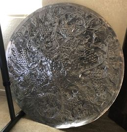 Large Metal Embossed Plate