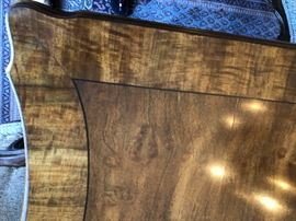 inlaid dining room table