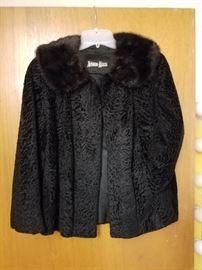 Lambswool coat