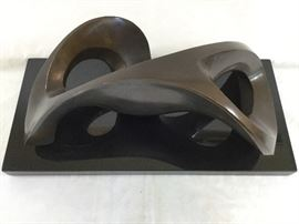 Bronze sculpture by Gordon Newell