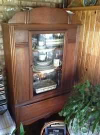 Antique China / Display Hutch $ 300.00