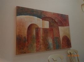 LARGE ABSTRACT CANVAS PICTURE