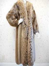 FUR COAT - NEVER WORN - RETAIL OVER $5000