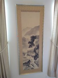 asian art, framed