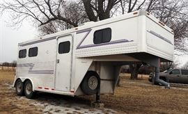 Soft Touch Horse Trailer