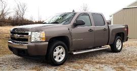 2007 Chevrolet Silverado Pickup Truck, VIN # 2GCEK133271609861, 74193 Miles