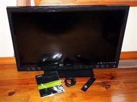 """Visio 42"""" LCD HD TV, Model# E421V0, Original Book Remote & Power cord"""