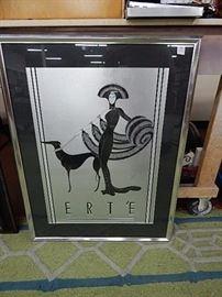 Erte Art Poster