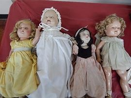 Antique Compositon Dolls