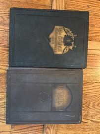 1922 & 1924 University of Notre Dame yearbooks