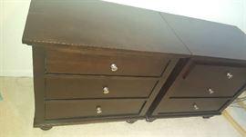 Dark brown dresser  $100 each