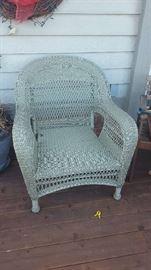 $80  Wicker chair (cushion not shown)