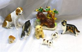 Vintage Dog Figurines