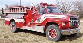 1985 Ford F-800 1000 gpm Pumper Truck w/ 429 - 4V ...