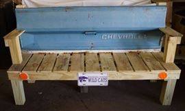 Custom Patio *FULL SIZE* CHEVY TAILGATE Garden Ben ...