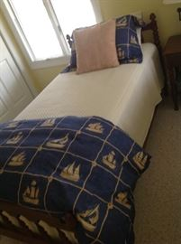Twin Bed Set - $ 400.00 (Bedding NOT included)