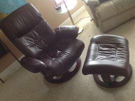 Chair / Ottoman set $ 160.00