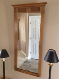 Wood Frame Mirror $ 40.00