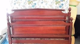 Pennsylvania House reproduction chest of drawers/dresser and mirror Headboard and footboard