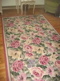 One of several floor rugs