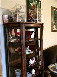 Antique curio missing front panel collectibles