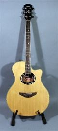 Yamaha APX500II Acoustic Guitar, Natural Finish, with Gig Bag