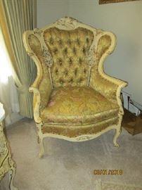 French Louis XVI style arm chair