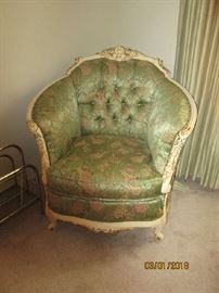 French Louis XVI chair