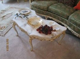 French coffee table