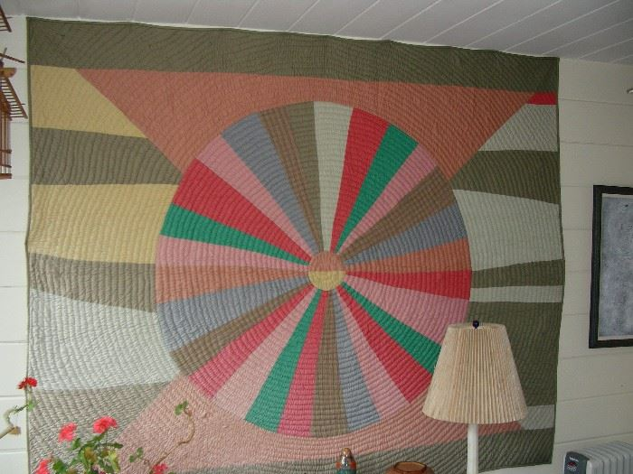 One of several quilts