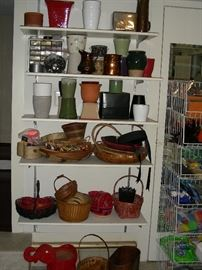 Vases, planters, baskets