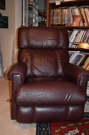 Lazyboy Brown Leather Recliner