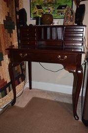 "Queen Ane Cherry Writing Desk 34"" X 22"""