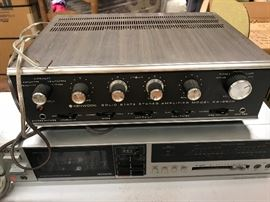 Kenwood vintage amplifier