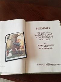 Book about Hummel figurines 1979by Robert l.Miller & Eric Ehrmann