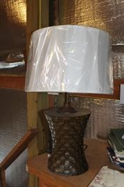 Brand new lamp with shade. Set of two