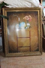 Large Framed Art