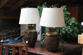 Matching Lamps - Brand new