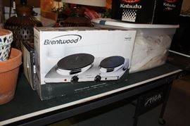 Brand new two burner. Never been used
