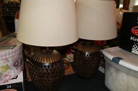Matching Lamps w/ shades