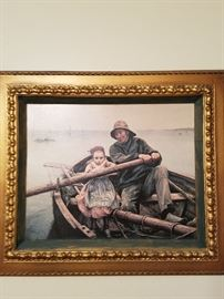 My Grandmother's picture for a long time. Reminds me of her house.