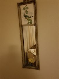 Great=grandmother's old mirror. It is numbered on the back.