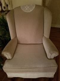 3 Wingback Chairs.