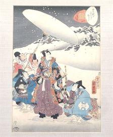Japanese  woodblock by Kunisada Utagawa
